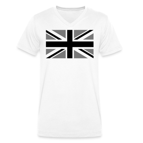 Union Jack Limited Edition Shirt male - Men's Organic V-Neck T-Shirt by Stanley & Stella