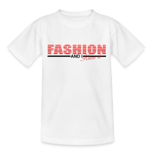 T shirt enfant fashion and i know it - T-shirt Enfant