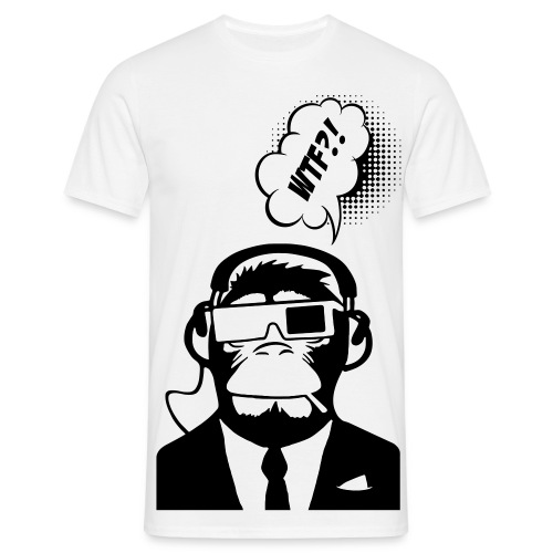 Monkey WTF - T-shirt Homme
