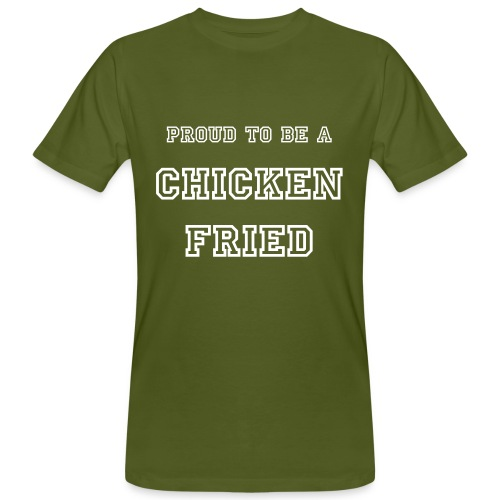 Tee shirt Bio / Organic CHICKEN FRIED - T-shirt bio Homme