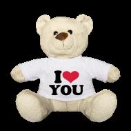 Knuffeldieren ~ Teddy ~ i love you teddybeer