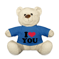 Knuffeldieren ~ Teddy ~ i love you teddybeer
