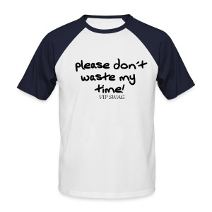 Pleases.... - T-shirt baseball manches courtes Homme