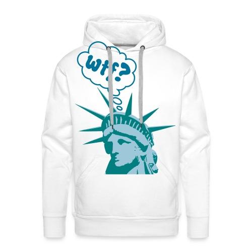 Liberty WTF - Sweat-shirt à capuche Premium pour hommes