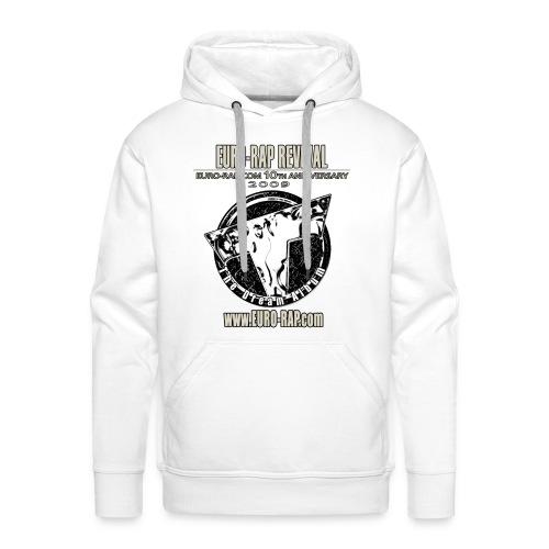 Euro-Rap Revival Hoodie White - Men's Premium Hoodie