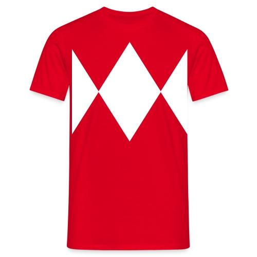 Red Ranger T - Men's T-Shirt