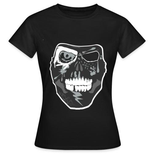 NixaTek Mask Black Women - Vrouwen T-shirt