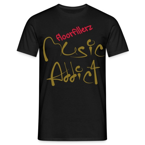 floorfillerz 'addict' - Men's T-Shirt
