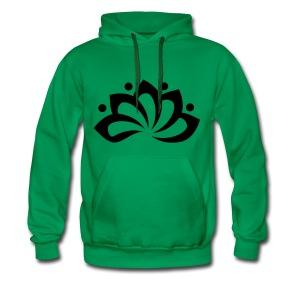 Clarity Groen - Mannen Premium hoodie