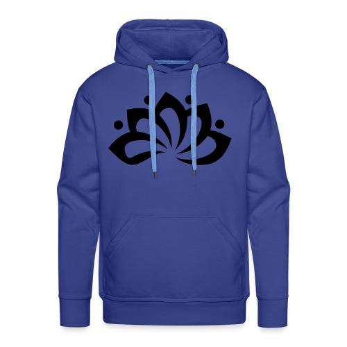 Clarity Blauw - Mannen Premium hoodie