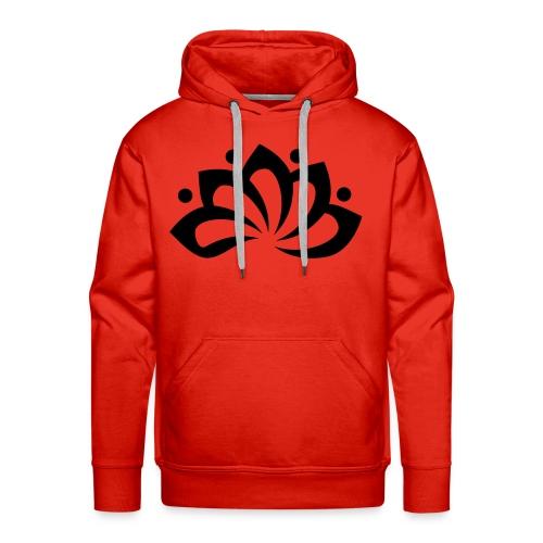 Clarity Rood - Mannen Premium hoodie