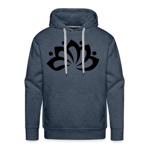 Clarity DonkerGroen - Mannen Premium hoodie