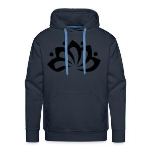 Clarity Zwart/Grijs - Mannen Premium hoodie