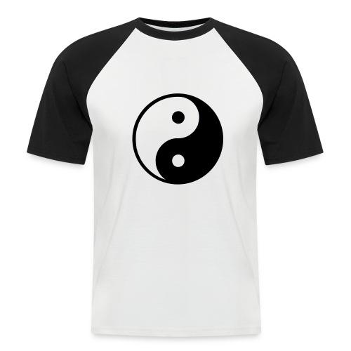 Yin & Yang Men - Men's Baseball T-Shirt