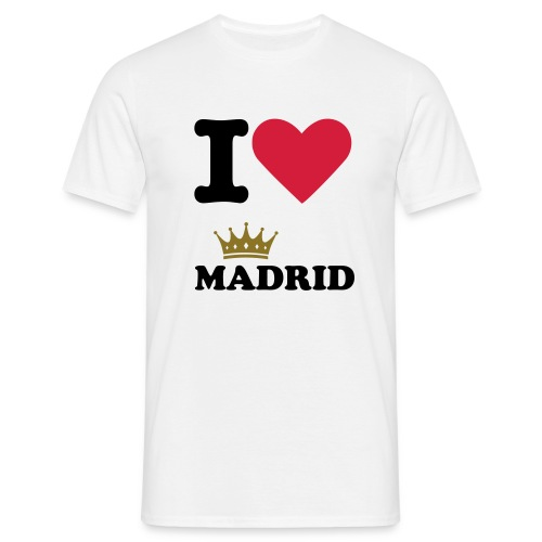 I Love Madrid! - T-shirt herr