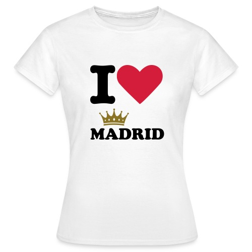 I Love Madrid! - T-shirt dam