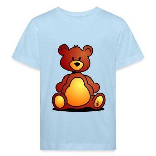 Camiseta blanca Niños - Oso de Peluche - Camiseta ecológica niño