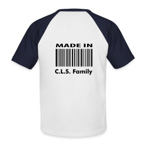 C.L.S. Family Made in C.L.S. Family - T-shirt baseball manches courtes Homme