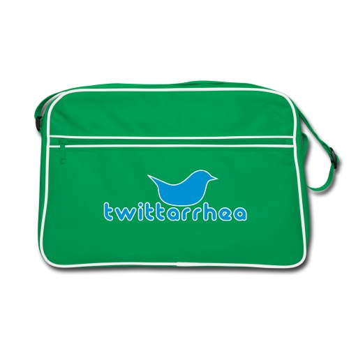 Twitterhea (Classic Messenger Bag) - Retro Bag