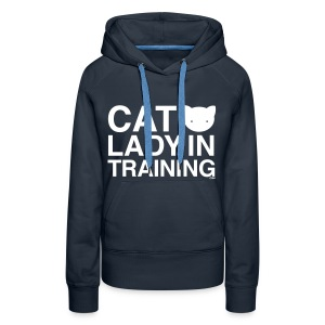 Cat Lady In Training - Women's Premium Hoodie