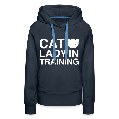 Cat Lady In Training - Women's Premium Hoodie