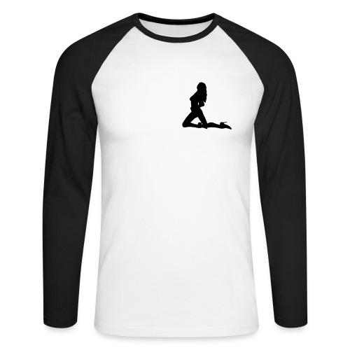 Sexy girl - Långärmad basebolltröja herr