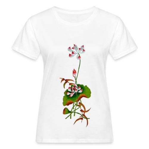 T-shirt fleur - T-shirt bio Femme