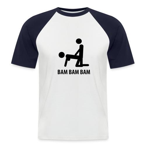 Kortärmad basebolltröja herr