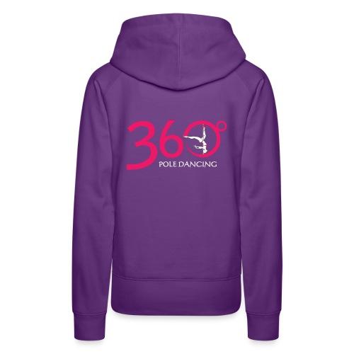 Purple 360 Pullover Hoody - Women's Premium Hoodie