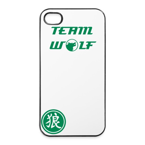 Team Wolf iPhone 4 Case - iPhone 4/4s Hard Case