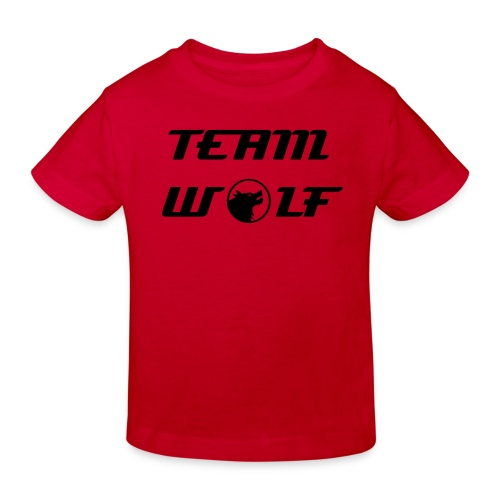 Team Wolf Childrens Tshirt - Kids' Organic T-Shirt