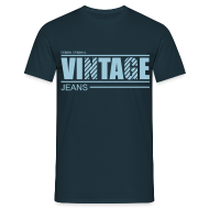Tee shirts ~ Tee shirt Homme ~ T shirt homme vintage jeans design original