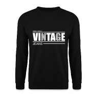 Sweat-shirts ~ Sweat-shirt Homme ~ Pull homme vintage jeans design original