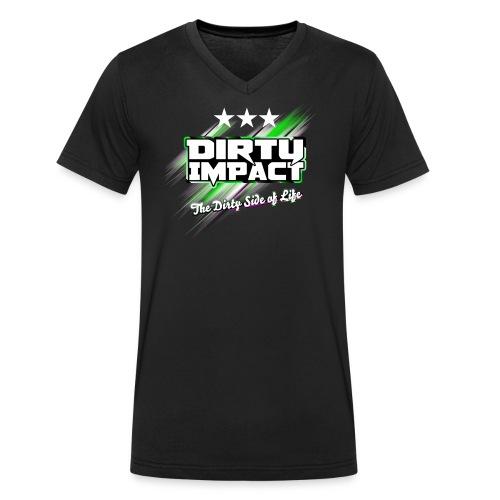 Dirty impact FAN-SHIRT - Männer Bio-T-Shirt mit V-Ausschnitt von Stanley & Stella