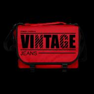 Sacs et sacs à dos ~ Sac à bandoulière ~ Sac à bandoulière vintage jeans design original
