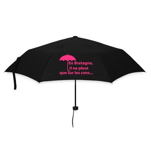 Parapluie en bretagne, il ne pleut que sur les cons - Parapluie standard