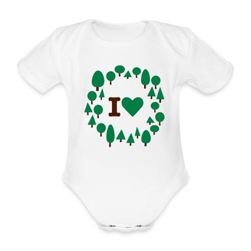 Baby Green Attitude - Body bébé bio manches courtes