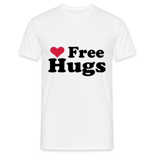 freehugs - Shirt - Männer T-Shirt