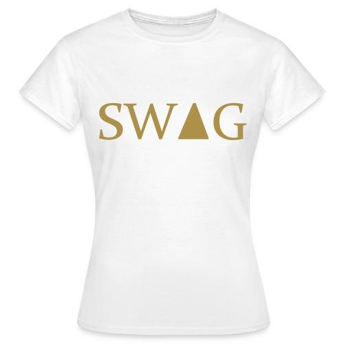 SWAG FEMME BLANC - T-shirt Femme