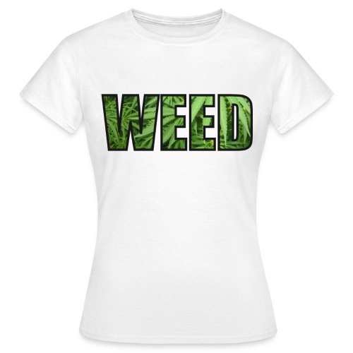 WEED HOMME BLANC - T-shirt Femme