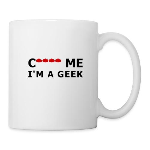 Cloud me I'm a geek - Mug blanc