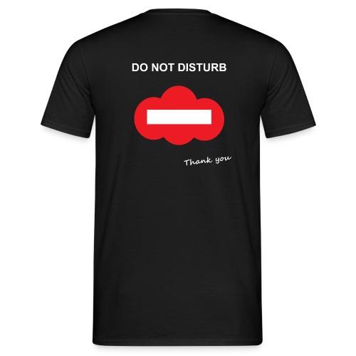 Do not disturb (inscription dos) - T-shirt Homme