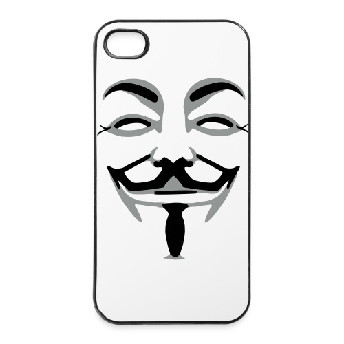 iPhone 4/4S Case Anonymous - iPhone 4/4s Hard Case
