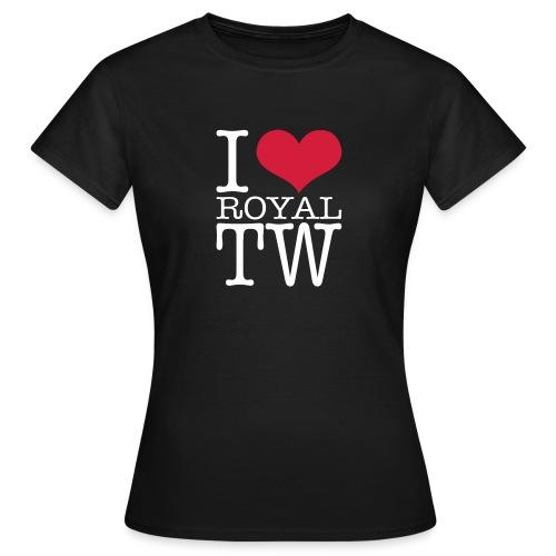 I Love Royal TW T-Shirt - Women's T-Shirt