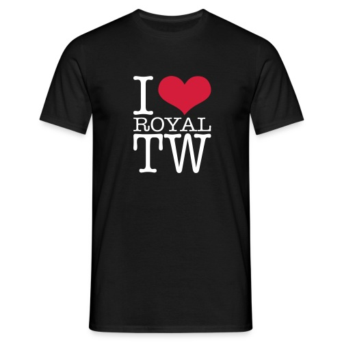 I Love Royal TW T-Shirt - Men's T-Shirt