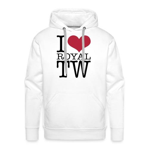 I Love Royal TW Hoodie - Men's Premium Hoodie