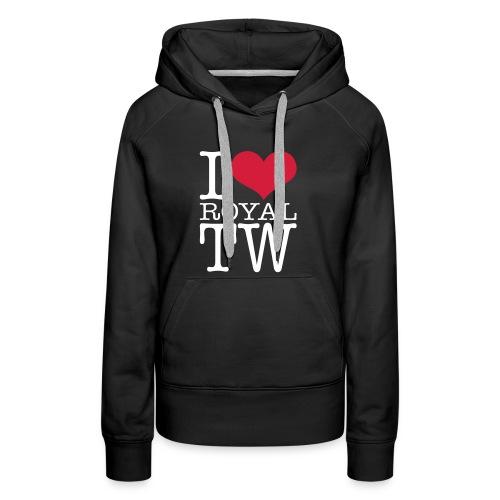 I Love Royal TW Hoodie - Women's Premium Hoodie