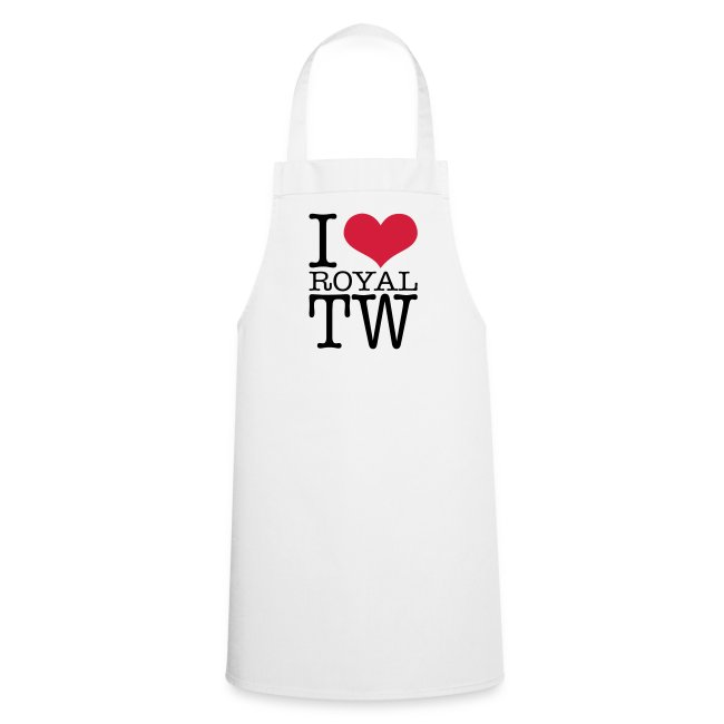 I Love Royal TW Apron