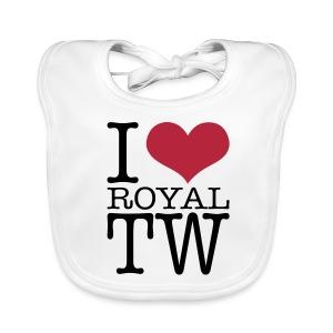 I Love Royal TW Baby Bib - Baby Organic Bib