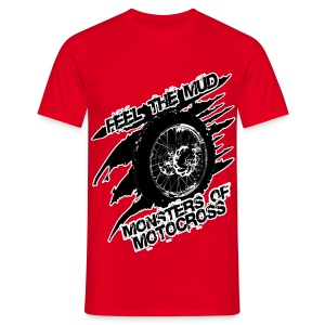Monsters of Motocross - Feel the Mud - Männer T-Shirt